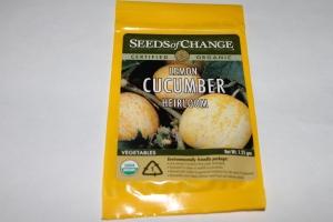 My beloved Lemon Cucumbers
