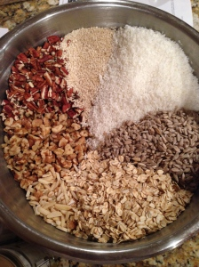 Seeds, nuts, oats