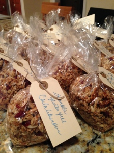 Granola ready to go!