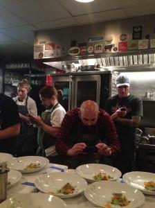 Chefs on Phones