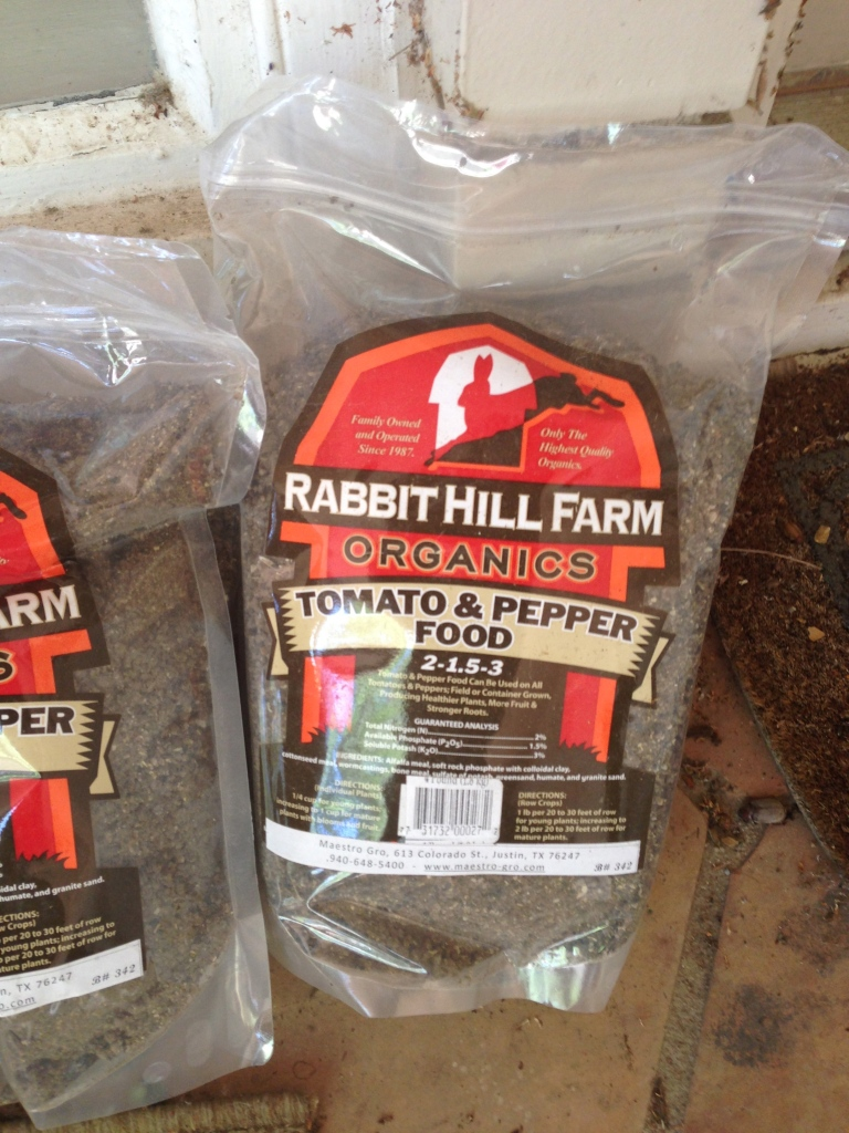 Rabbit  Hill Tomato and Pepper Food