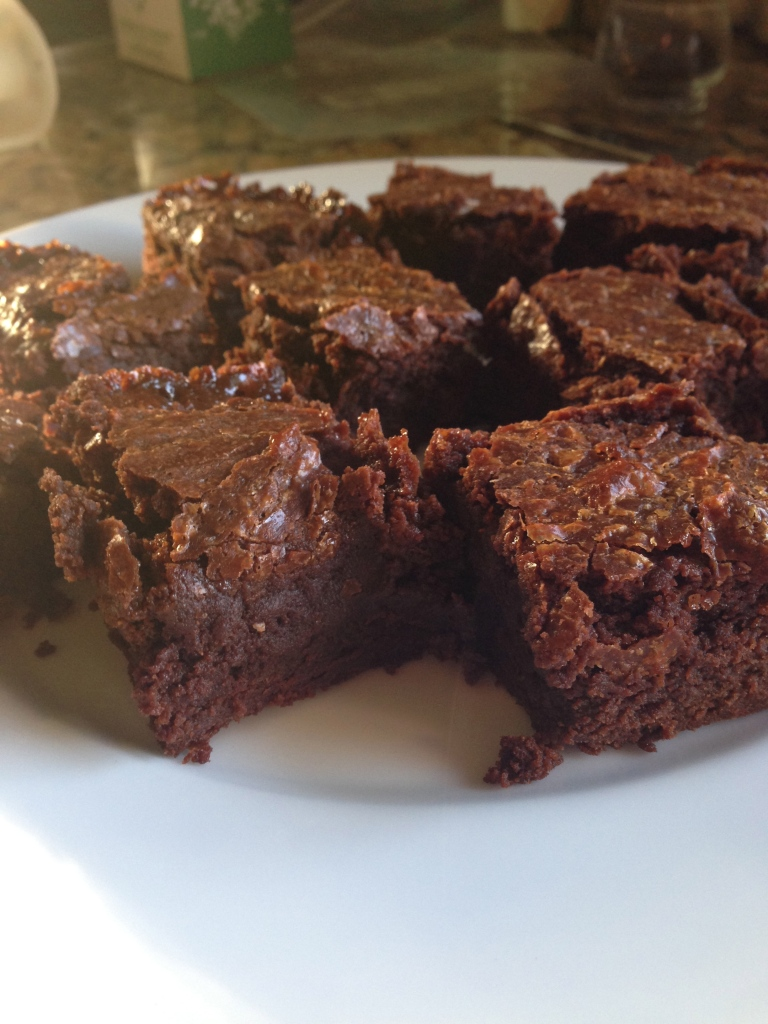Bourbon Cajeta Brownies
